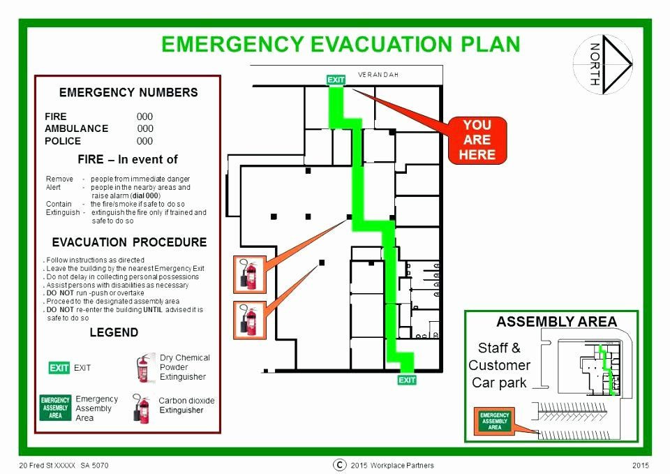 Emergency Evacuation Plan Template Free Emergency Evacuation Plan Template Free Unique Personal