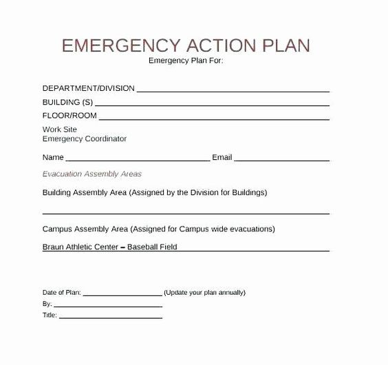 Emergency Evacuation Plan Template Free Emergency Evacuation Plan Template Unique Fice