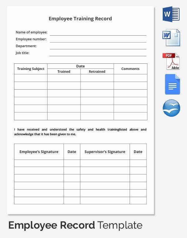 Employee Training Plan Template Individual Employee Training Plan Template Luxury Employee