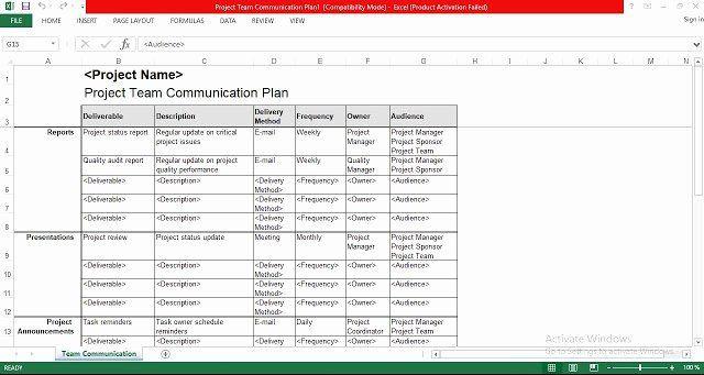 Engineering Project Plan Template Engineering Project Plan Template Inspirational Project Team