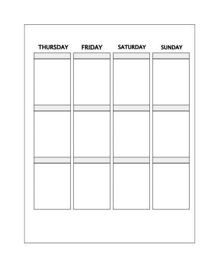 Erin Condren Life Planner Template Pin On Action Plan Template Printable Design