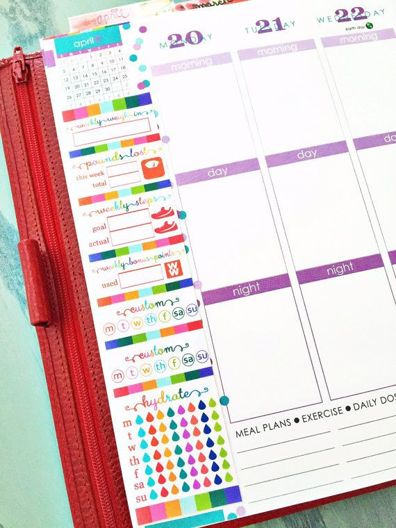 Erin Condren Life Planner Template Pin On Planner Printables