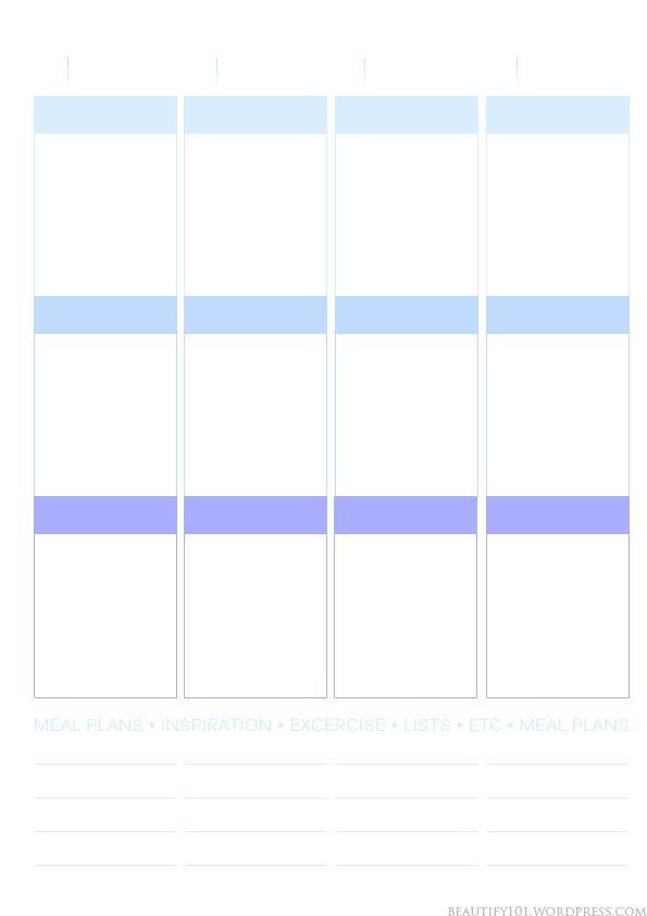 Erin Condren Life Planner Template Planner101 Free Printable Page Layout Erin Condren