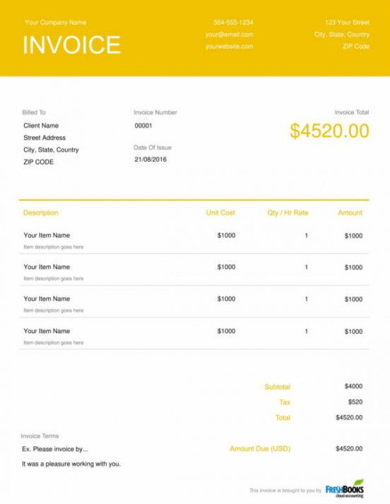 Event Planner Invoice Template Get Our Example Of event Planner Invoice Template In 2020