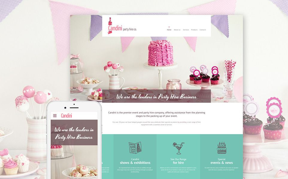 Event Planner Website Template 20 HTML5 Templates From Templatemonster with Images