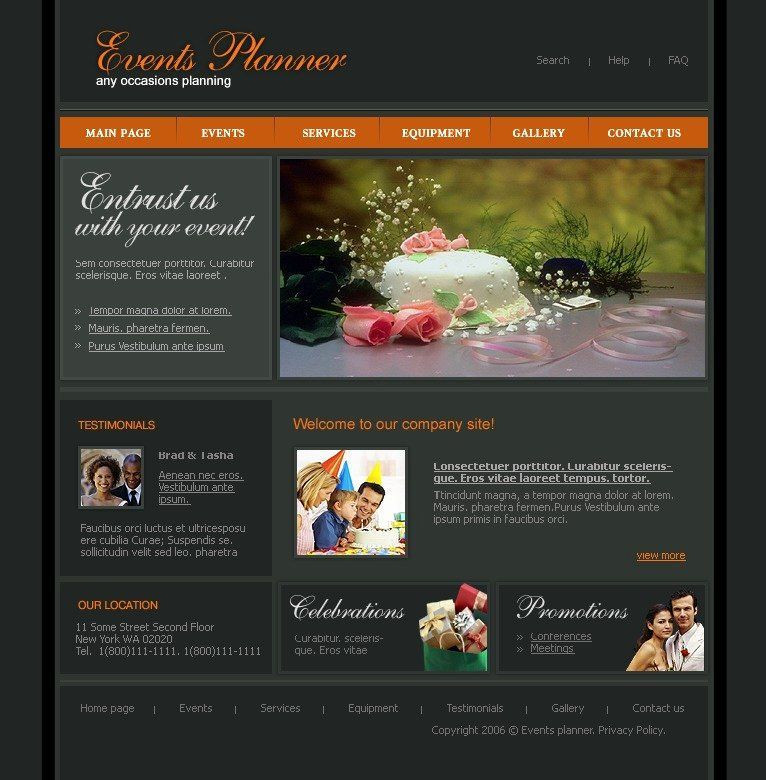 Event Planner Website Template Pin On Wedding Planning