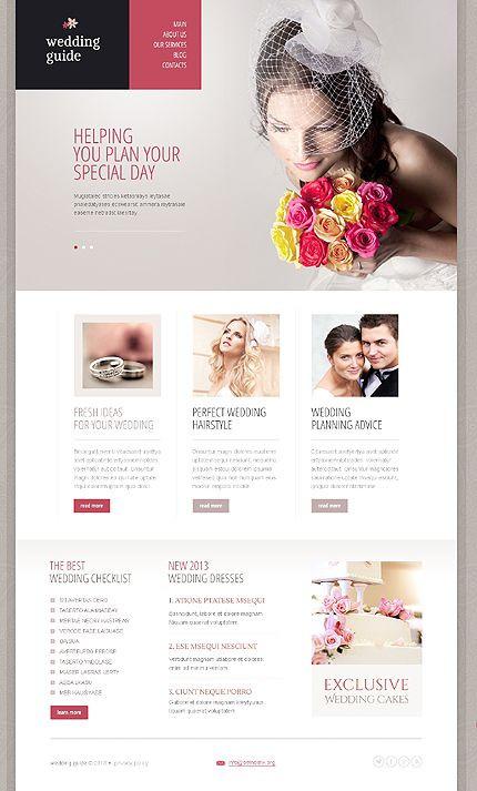 Event Planner Website Template Wedding Drupal Template