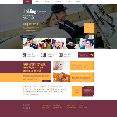 Event Planner Website Template Wedding Planner Responsive Wordpress Template Small