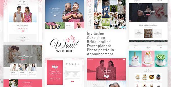 Event Planner Website Template Wowedding Wedding oriented HTML Website Template