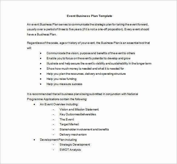 Event Planning Proposal Template event Planning Template Pdf Inspirational event Planning