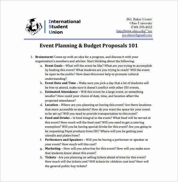 Event Planning Proposal Template Wedding Planner Proposal Template Elegant event Proposal