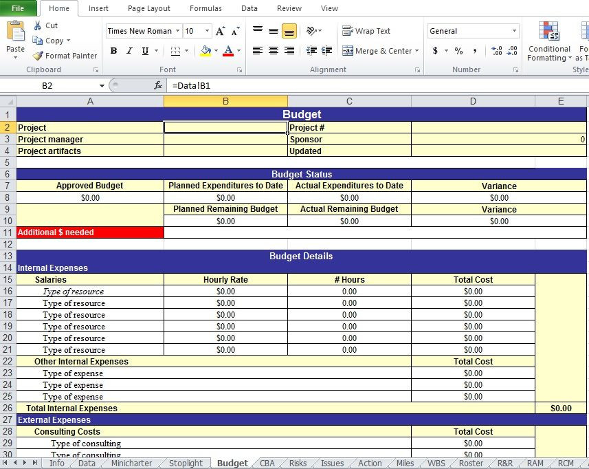Excel Action Plan Template Action Plan Templates Excel