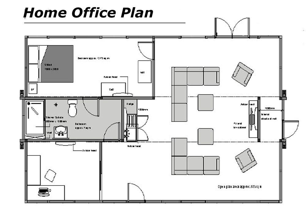 Floor Plan Design Template Modern home  Fice floor plans for A