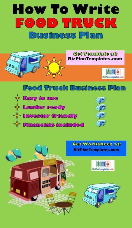 Food Truck Business Plan Template Food Truck Business Plan Template Package Etsy
