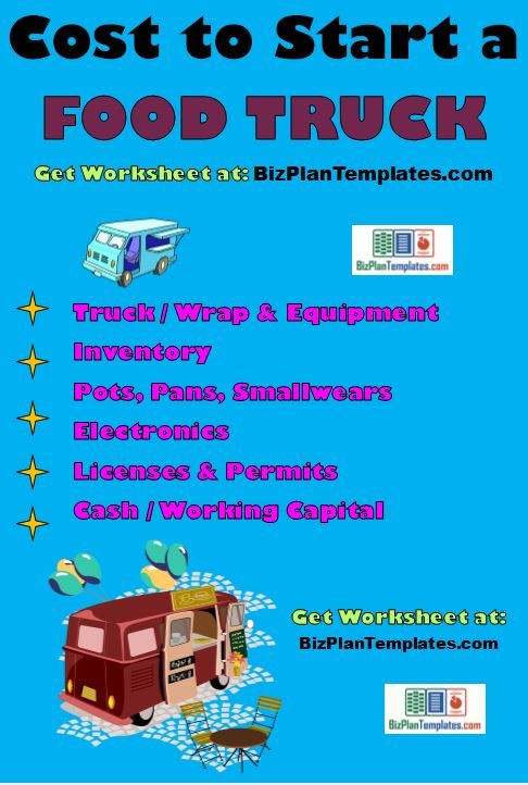 Food Truck Business Plan Template Food Truck Business Plan Template Package