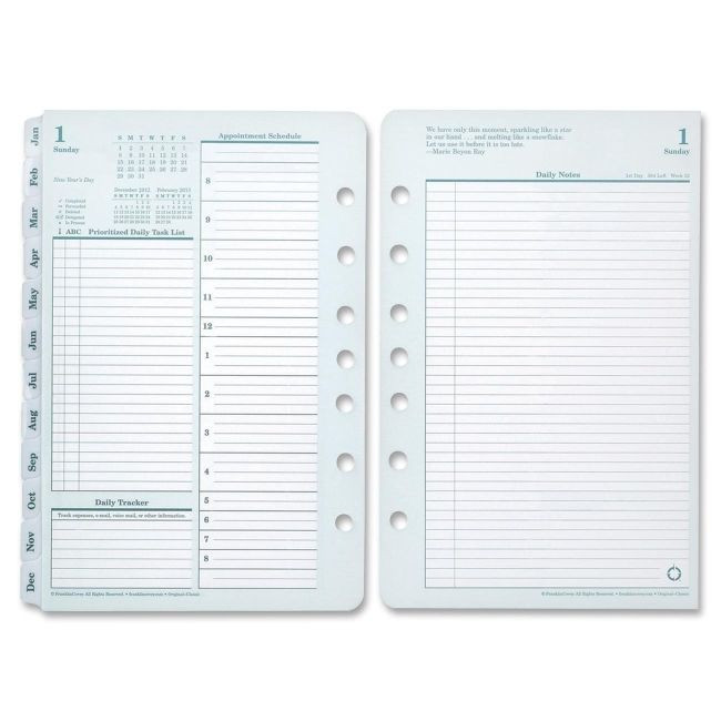 Franklin Covey Daily Planner Template Buy Printers Line Laser Inkjet Colored