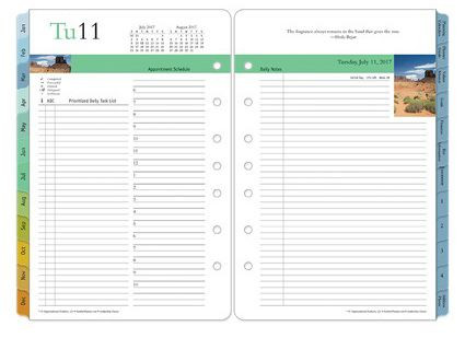 Franklin Covey Daily Planner Template Franklin Planner Review Two Page Per Day System