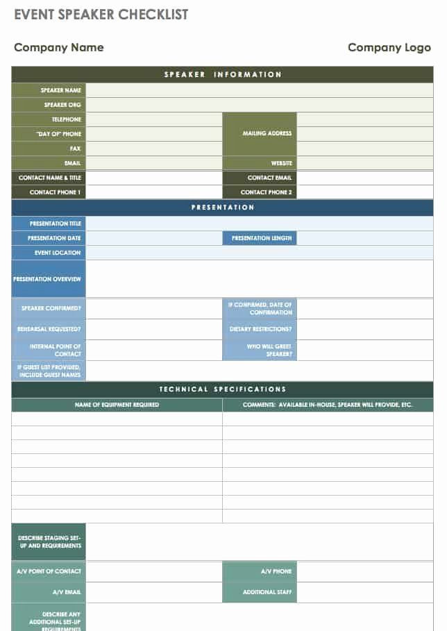 Free event Planning Template Free event Planning Template Download Beautiful 21 Free