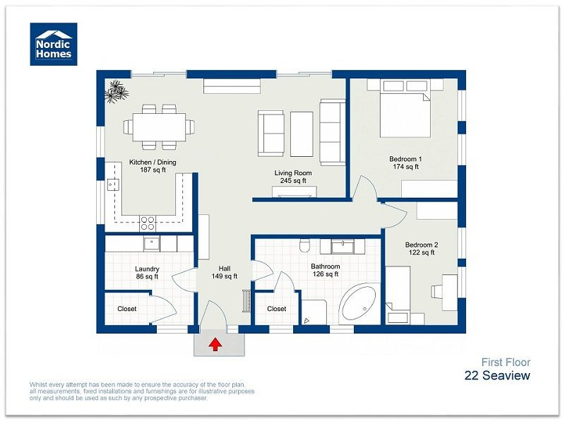 Free Floor Plan Template Roomsketcher 2d Floor Plans In 2020