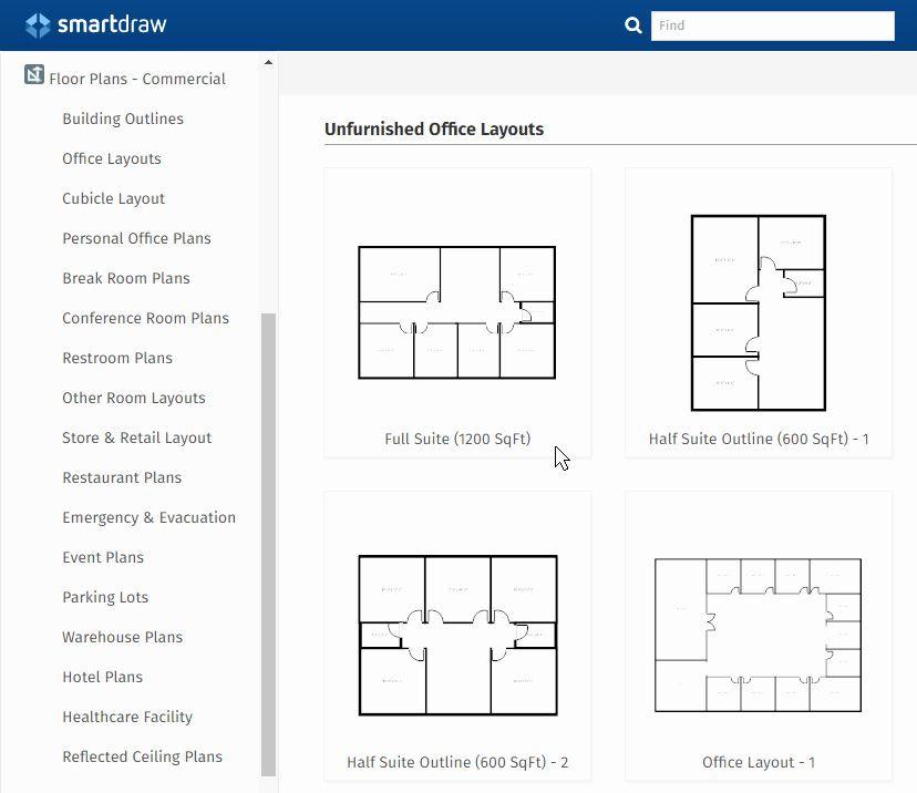 Free Floorplan Template Free Floor Plan Template Fresh Fice Layout Planner