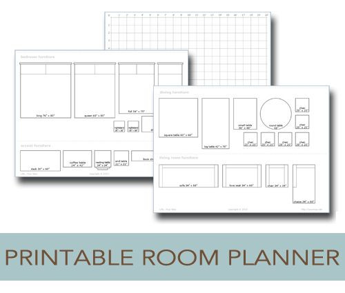 Free Floorplan Template Printable Room Planner to Help You Plan Your Layout Life