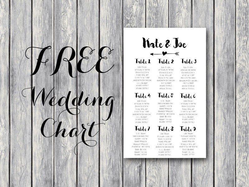 Free Wedding Floor Plan Template Free Wedding Seating Chart Bride & Bows