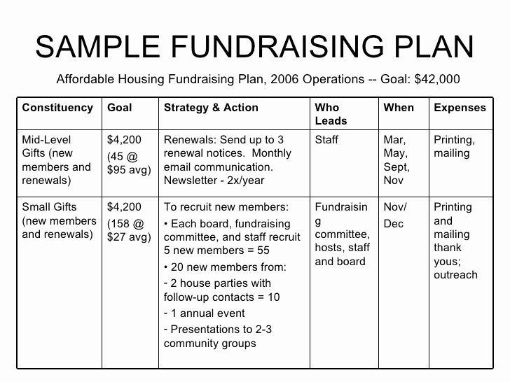 Fundraising event Planning Template Fundraising event Planning Template Fresh Non Profit Example
