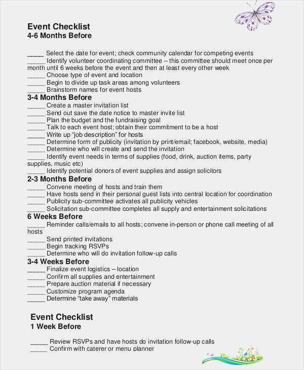 Fundraising event Planning Template Pin On event Planning Business