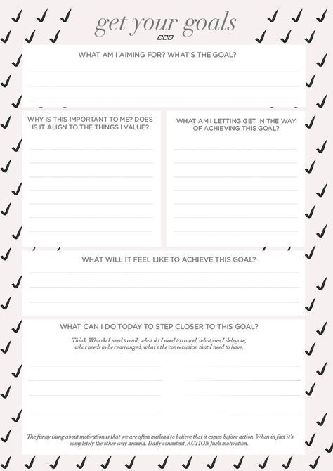 Goal Planning Template A Goal Setting Worksheet that Wasn T Made In the 90 S Move