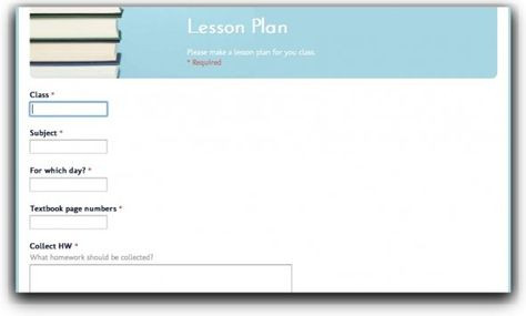 Google Sheets Lesson Plan Template top 10 Lesson Plan Template forms and Websites