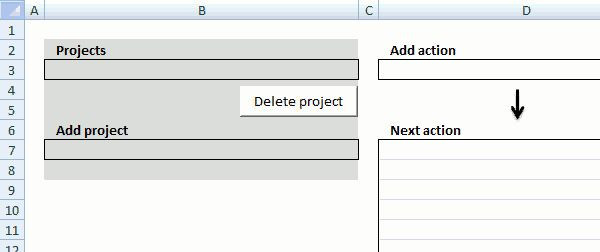 Gtd Project Planning Template Gtd Project Planning Template Luxury Excel Template Getting