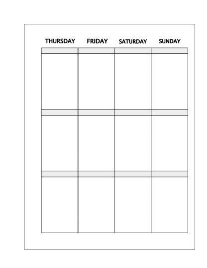Happy Planner Template Faux Happy Planner Inserts – Free Planner Printable