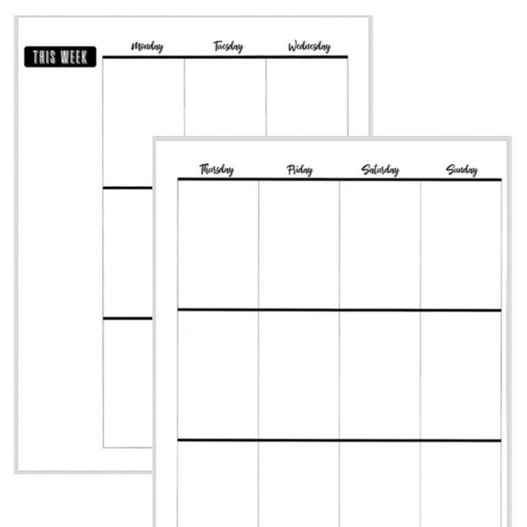 Happy Planner Template Free Printable Big Happy Planner Set