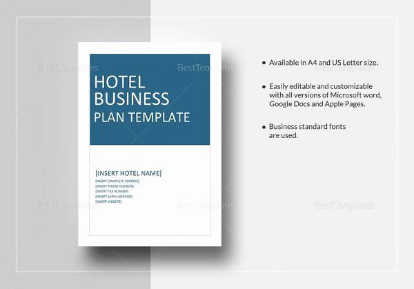 Hotel Business Plan Template Google Doc Business Plan Template Best 16 Hotel Business