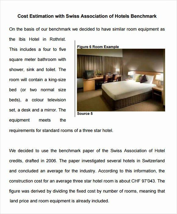 Hotel Business Plan Template Hotel Business Plan Pdf Fresh Hotel Business Plan Template 8