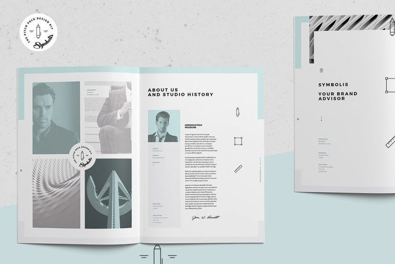 Indesign Business Plan Template 30 Indesign Business Proposal Templates