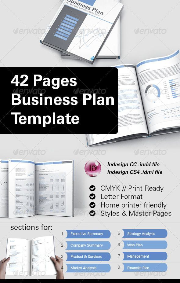 Indesign Business Plan Template 42 Pages Business Plan Template