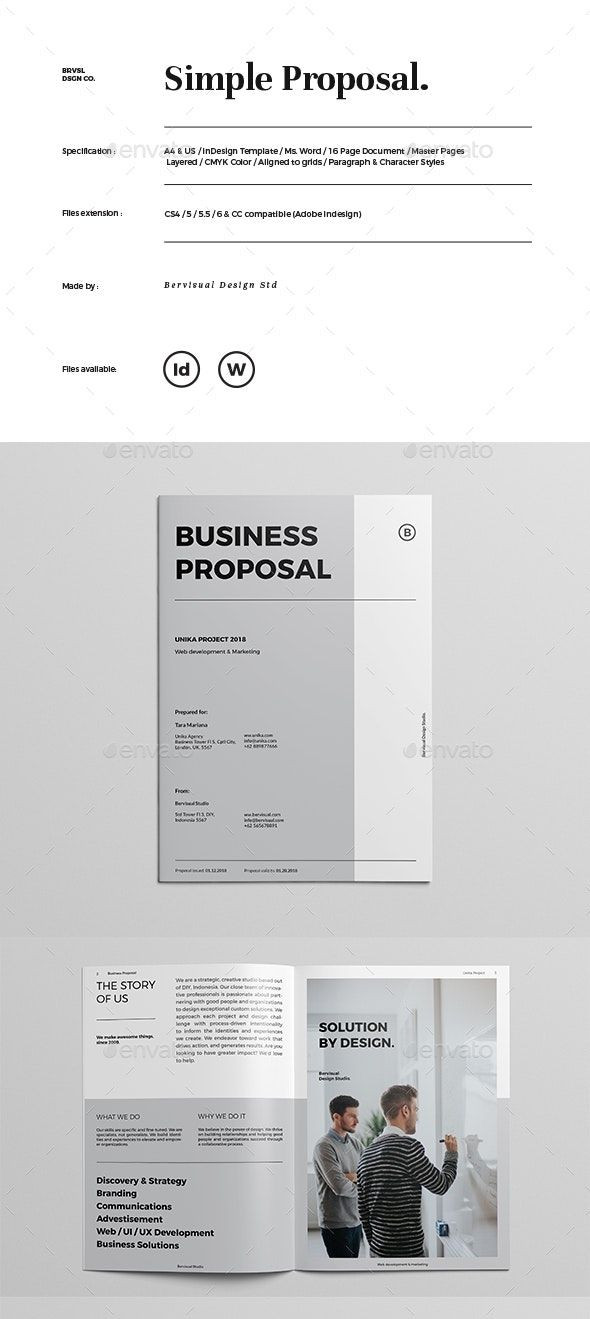 Indesign Business Plan Template Pin On Brochure Design