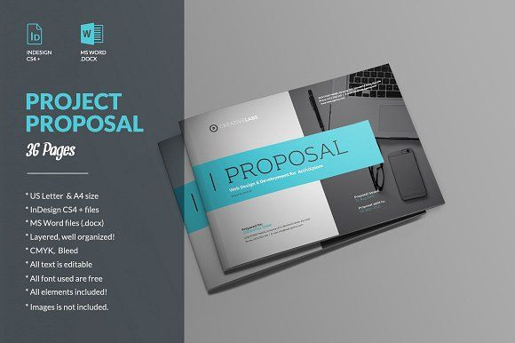 Indesign Business Plan Template Proposal