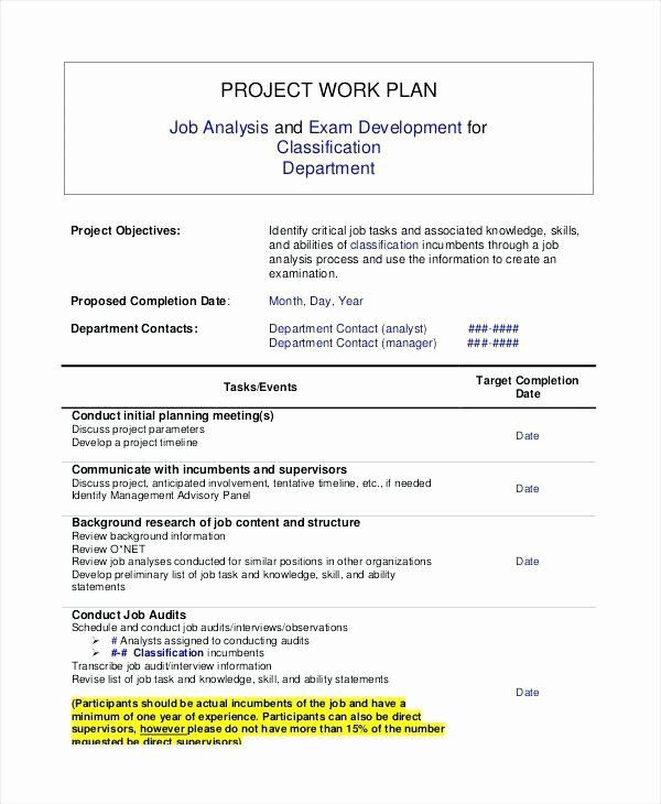 Job Search Plan Template Job Search Plan Template Inspirational Job Search Action