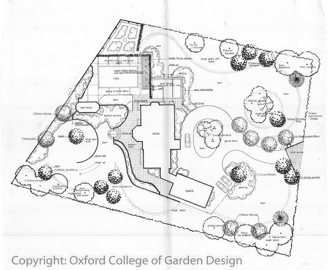 Landscaping Plan Template 100