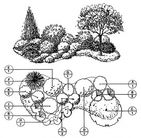 Landscaping Plan Template Downloadable Landscape Plans – Sheridan Nurseries