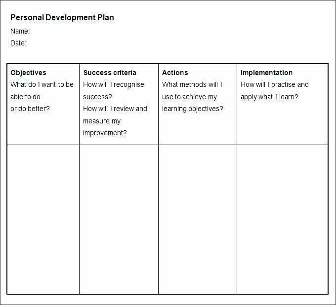 Leadership Development Plan Template Capital Improvement Plan Template Best Leadership