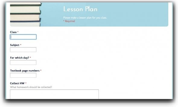 Lesson Plan Template Google Doc top 10 Lesson Plan Template forms and Websites