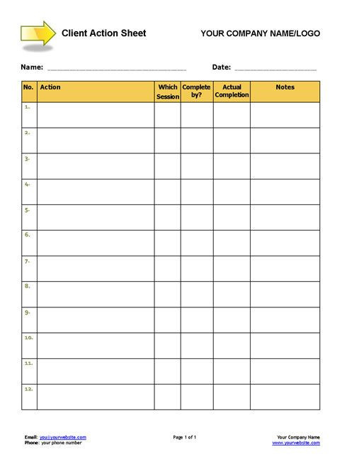 Life Coaching Session Plan Template Wel E Pack toolkit