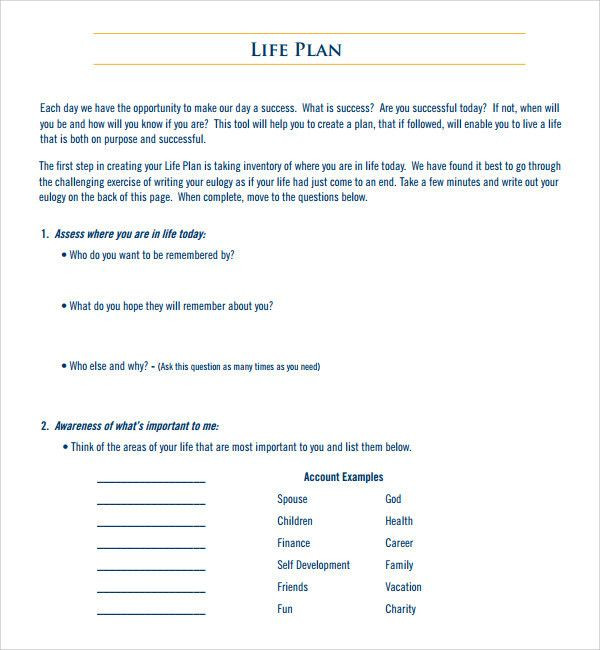 Life Plan Template Life Coach Business Plan Template Best Business Plan