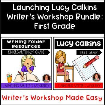 Lucy Calkins Lesson Plan Template Launching Lucy Calkins Writer S Workshop and Folder