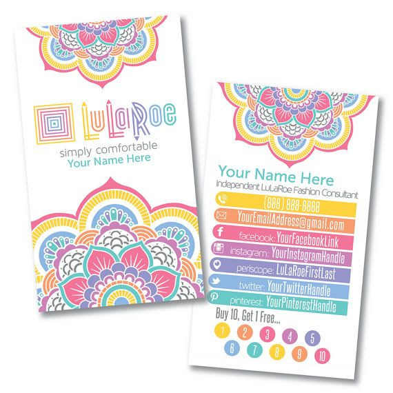 Lularoe Business Plan Template Lularoe Custom Business Card Design Home by