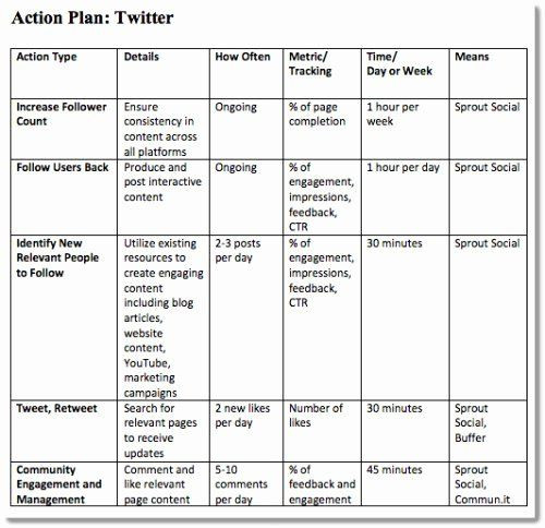 Marketing Action Plan Template Excel Marketing Action Plan Template Excel Best 4 Step Plan to