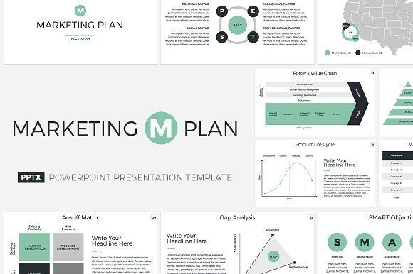 Marketing Plan Powerpoint Template Marketing Plan Powerpoint Template by Creativeslides Get